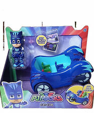 PJ MASKS PYJAMASQUES SASHA FIGURINE FIGURE & VEHICLE VEHICULE  CATBOY CAT CAR