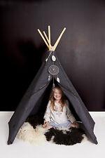 antracita Compañero de piso Hippi Tipi Tienda juegos para niños 2 hasta 8 Años