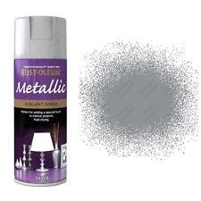 x5 Rust-Oleum Multi-Purpose Premium Spray Paint Indoor Outdoor Metallic Silver