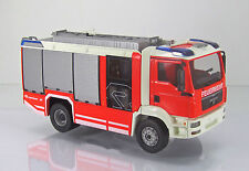 Wiking 043142 Man TGM bomberos-rosas Bauer at con Transp. Heck scale 1/43