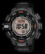 Casio ProTrek PRG270-1 Black Wristwatch Triple Sensor Version 3 - PRG-270-1