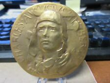 Society of Medalists #4 Charles Lindbergh 1931 by Frederick W MacMonnies  MACO