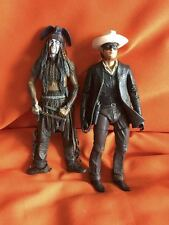 "THE LONE RANGER & TONTO 7"" NECA ACTION FIGURES"
