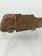 Vintage Auburn Rubber Corporation USA Brown Truck