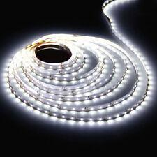 LED Strip Licht Streifen 5m Band Leiste mit 300 LEDs Weiß(SMD 3528) DC 12V Roll
