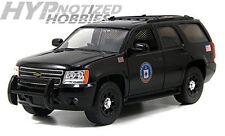 JADA 1:24 2010 CHEVY TAHOE CIA POLICE DIE-CAST CAR N/B