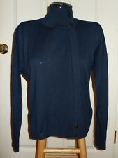 Marc Jacobs Darkest Teal Blue Nico Cashmere Sweater NWT XS