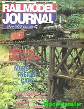 Railmodel Journal Sept.91 Southern Stock Car EMD SD40 Conrail SP Alco FA2 FB2