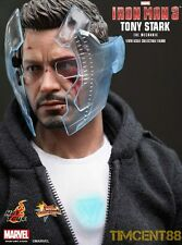 Ready! Hot Toys 1/6 Iron Man 3 Tony Stark The Mechanic Mandarin Mansion Normal