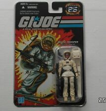 Azioni Force/Gi Joe Cobra 25th SNOW JOB SIGILLATA MOC SIVER Foil card