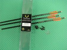 TenPoint Pro V22 Carbon Crossbow Arrows with Omni Brite Lighted Nocks 3 pk