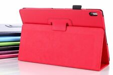 COQUE HOUSSE TABLETTE LENOVO TAB A10 A10-70 A7600 DURABLE ROUGE