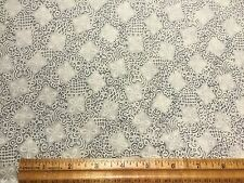 Vintage Cotton Fabric 40s50s Organdy CUTE Daisies Bows on Pale Green 36w 1yd