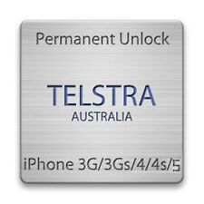 OFFICIAL Factory Unlock for iPhone 3g 3gs 4 4s 5 5s 5c 6 6+ TELSTRA australia