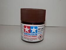 Tamiya Color Acrylic Paint Red Brown #XF-64 (23 ml) NEW