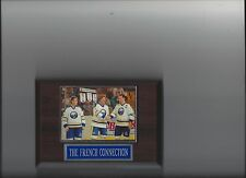 THE FRENCH CONNECTION PLAQUE BUFFALO SABRES PERRAULT ROBERT MARTIN HOCKEY NHL