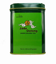 Jade Oolong Tea Green Oolong Tea Loose Leave Tea 4 OZ  Packed In Tea TIN