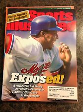 May 1 2000 Vladimir Guerrero Montreal Expos Baseball Sports Illustrated Magazine