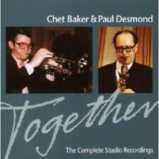 CHET BAKER & PAUL DESMOND - TOGETHER:THE COMPLETE STUDIO RECORDINGS  CD NEU