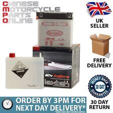 Lextek Motorcycle Battery 12N7-4A for Pioneer Nevada 125 XF125L-4B