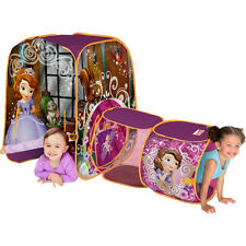 Disney Sofia The First TENT Discovery FUN PLAYTIME Portable Hut By Playhut  NEW