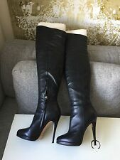 Casadei Over the Knee Leather Boot SZ 36