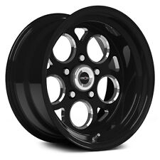 "15X8 VISION SSR MAG BLACK MAGNUM PRO DRAG RACING WHEEL 5X4.5 1pc NO WELD 4.5""BS"