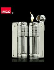 New imco triplex super 6700 petrol lighter with windguard an spare flint holder