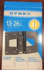 "NEW DYNEX  DX-TVM111  TV WALL MOUNT BRACKET 13""-26""  New, Retail Package"