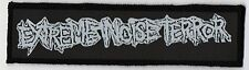 EXTREME NOISE TERROR PATCH / SPEED-THRASH-BLACK-DEATH METAL