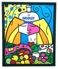 "Romero Britto     ""Absolut Britto""            MAKE OFFER"