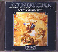 Wolfgang SAWALLISCH: BRUCKNER Symphony No.6 ORFEO CD Made in Japan