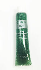 Green Glitter Face Body Gel Tube St Patricks Day Paddys Makeup Fancy Dress Irish