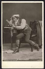 a409      Martin Harvey...  Edwardian Stage Actor...  Beagles Card .  Dated 1906