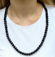 New SHAMBALLA CRYSTAL BLACK NECKLACE BEADS DISCO BALL CHAIN