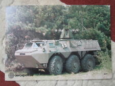 DOCUMENT RECTO VERSO AEROSPATIALE HOT 2 ANTI TANK GUIDED MISSILE VAB RENAULT