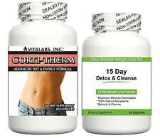 FAT BURNERS & DETOX CLEANSE Hoodia Diet Pills Strong Slimming Weight Loss Tablet