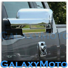 09-14 Ford F150 Truck Chrome Mirror without Turn Light Signal Full Cover a Pair