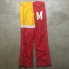 80s 90s VTG CHAMPION TEARAWAY Snap Pants Warm Up BASKETBALL Shiny Size 34 USA Md