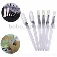 6 PCS Soft Brush Marker Pens Water Capacity Color Painting Watercolour Drawing