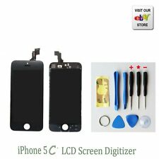 Replacement Touch Screen LCD Digitizer frame Assembly For iPhone 5C Black