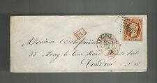 1859 Le Havre France Cover  to London England New Years Eve Cancel