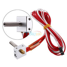 1.75mm to 0.4mm MK8 Nozzle Extruder Hot End 3D Printer Print Head Assembled Set