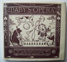 THE BABY'S OPERA Walter Crane HC/DJ Engraved Printed in colours Edmund Evans -J1