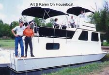 EZ 7 Deck/Pontoon/ Houseboat/ platform boat plans 18