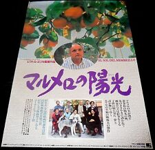 1992 El Sol Del Membrillo ORIGINAL JAPANESE POSTER Víctor Erice Dream Of Light