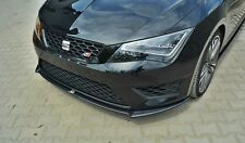 Cup Spoilerlippe Front Diffusor SEAT LEON III CUPRA / FR