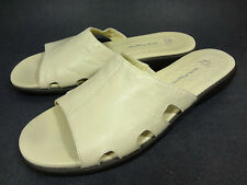 HUSH PUPPIES HPO FLEX WOMENS MULES SLIP ON LEATHER SHOES SIZE 12 M
