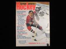 December 1975 Action Sports Hockey Magazine - Guy Lafleur Cover