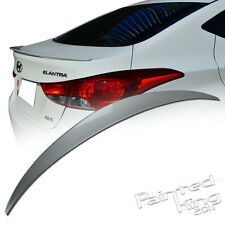 11-15 For Hyundai ELANTRA MD REAR TRUNK WING SPOILER WING PAINTED